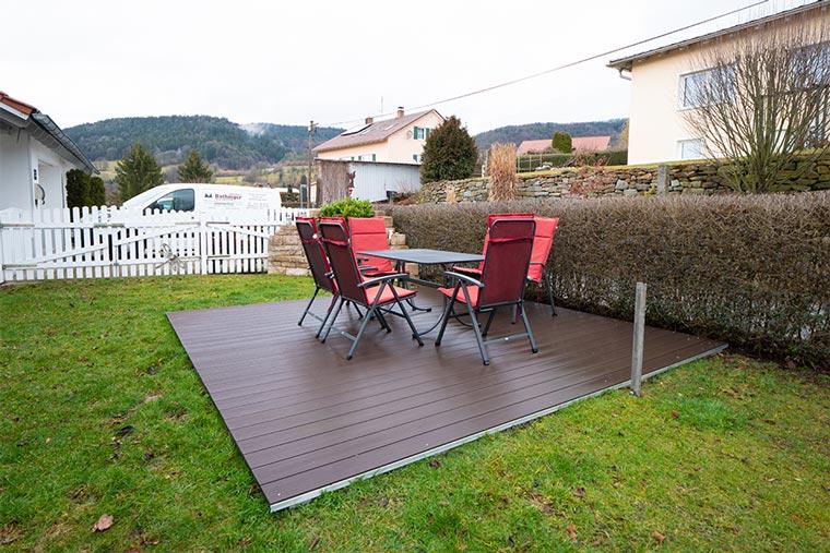 Verwendung von Holz im Außenbereich