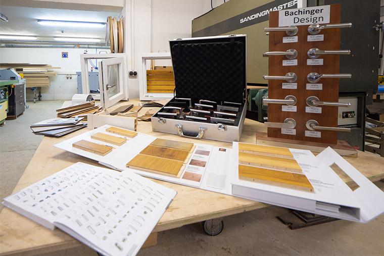 Material für den Innenausbau